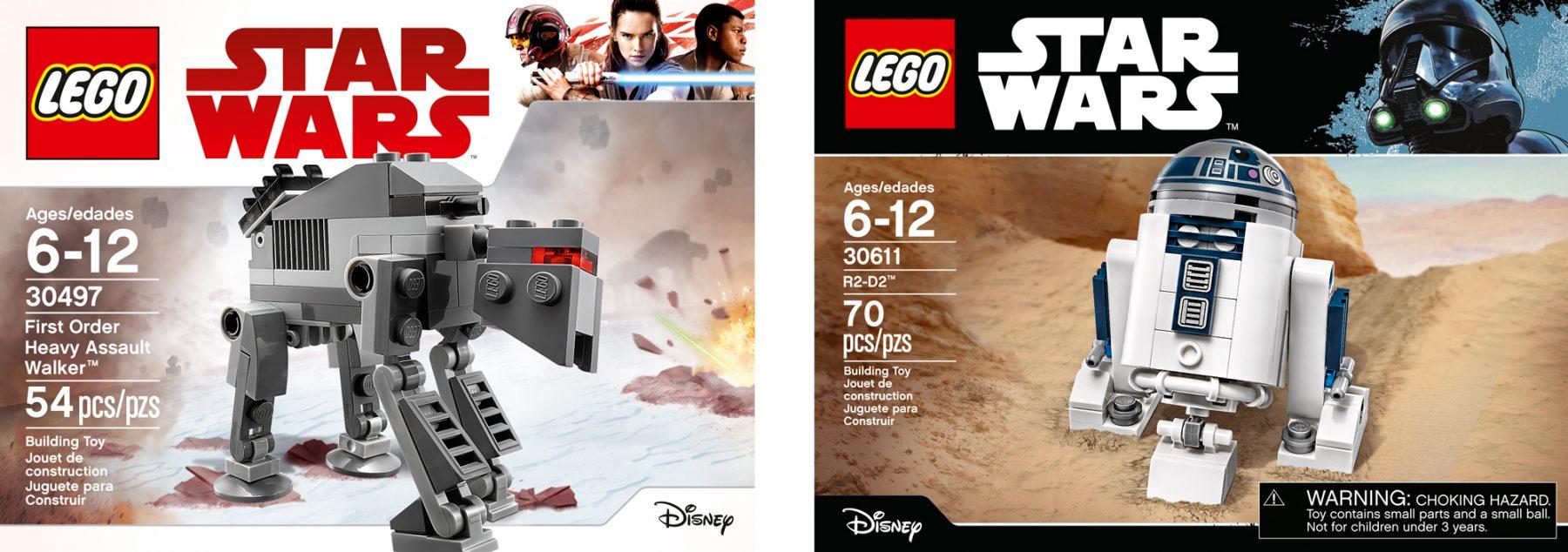LEGO Star Wars Packaging — Design: MS, Bernie Cavendar / Photo: Atwater