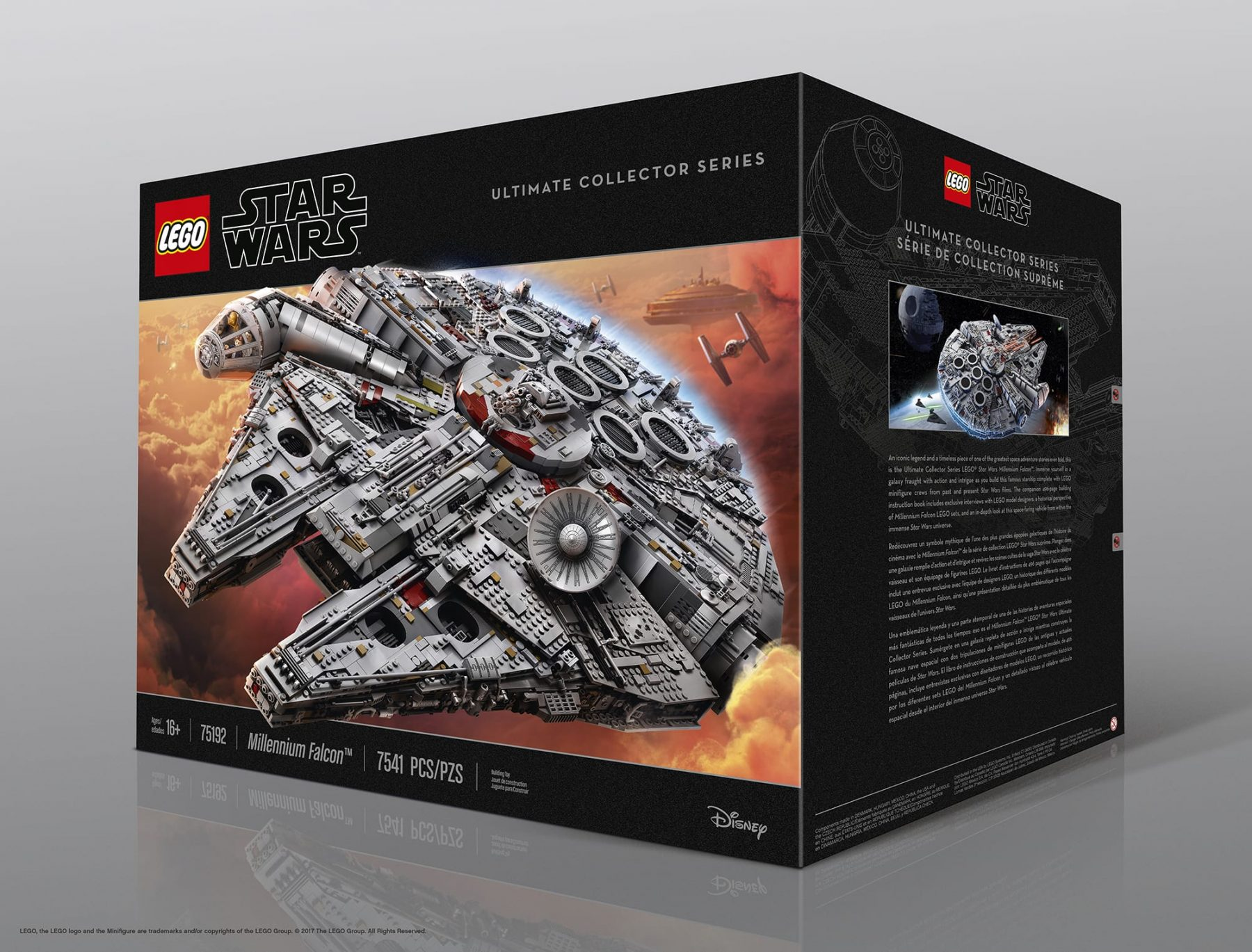 LEGO Star Wars UCS Packaging — Design: MS, Bill Colburn, Sara Saffery, Peter Cangialosi, Doodle / Photo: Atwater